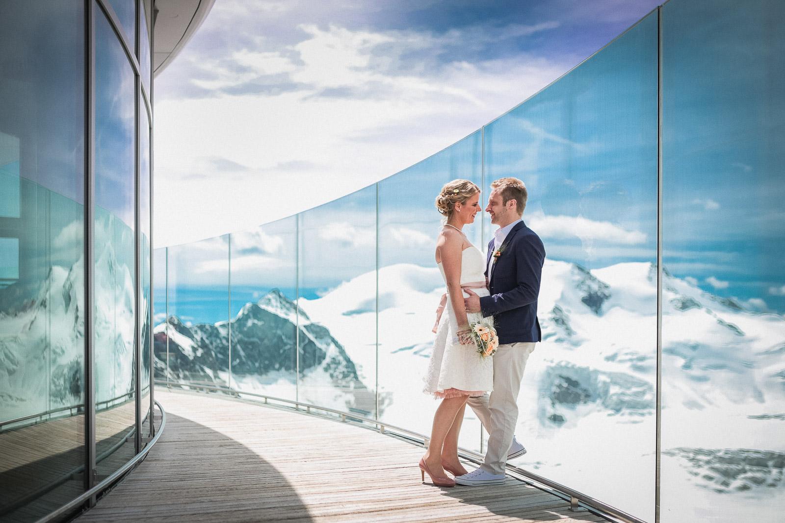 Intimate Wedding - Heiraten am Pitztaler Gletscher